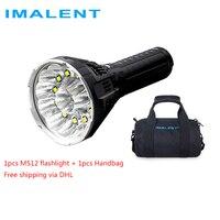 IMALENT MS12 обувь по заводским ценам через DHL мощный светодиодный фонарик 53000 люмен Ультраяркий фонарик Водонепроницаемый Перезаряжаемые факел