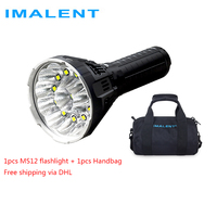 IMALENT MS12 Factory Outlet via DHL Powerful LED Flashlight 53000 Lumen Ultra Bright Flashlight Waterproof Rechargeable Torch
