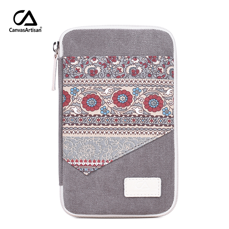 Canvasartisan Women Small Makeup Bag Retro Floral Style Coin Purse Clutches Storage Bag Female Phone Pouch Money Holder Bags