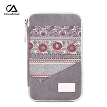 цены Canvasartisan Women Small Makeup Bag Retro Floral Style Coin Purse Clutches Storage Bag Female Phone Pouch Money Holder Bags