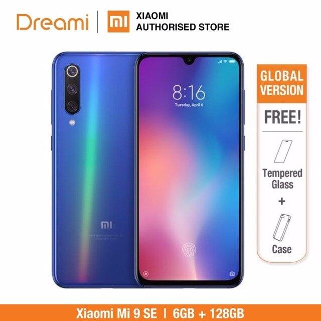 النسخة العالمية شياو Xiaomi mi 9 SE 128GB ROM 6GB RAM (العلامة التجارية الجديدة و مختومة) mi 9 SE 128