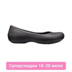Женская обувь без каблука Crocs