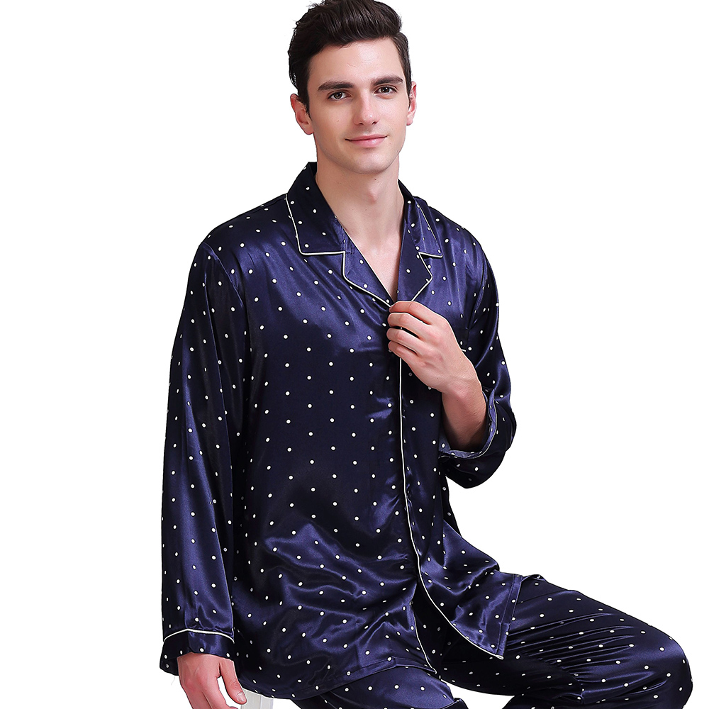 Mens Silk Satin Pajamas Set   Pyjamas  Set   PJS  Sleepwear Set   Loungewear U.S,S,M,L,XL,XXL,4XL
