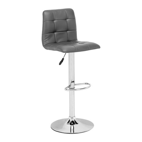 Oxygen Bar Chair Gray oxygen