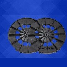 2 pcs roda para hobot 188 168 Escova de limpeza para o windows