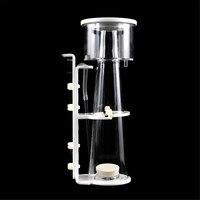 Acrylic Aquarium Fish Tank Protein Separator Skimmer Pump Filter Salt Water Bubble Stone Aquarium Water Purification Accessories