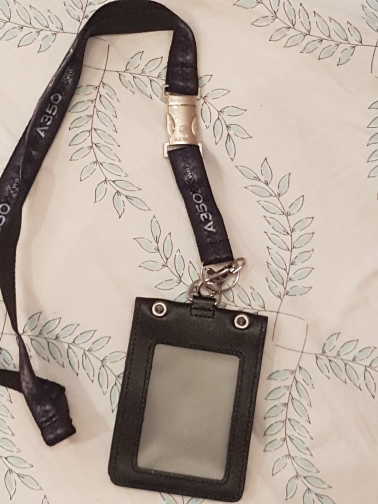 Airbus A350 Black Lanyard with Metal Buckle for Pliot Flight Crew 's License ID Card Holder Boarding Pass String Sling photo review