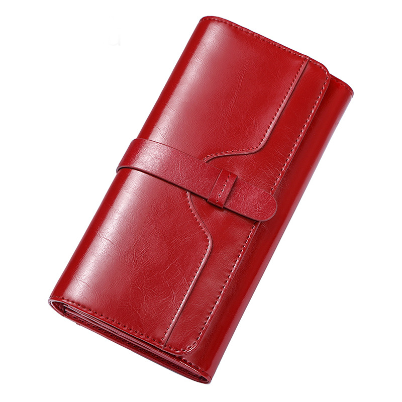 купить Hot Sale Wallet Brand Coin Purse Split Leather Women Wallet Purse Wallet Female Card Holder Long Lady Clutch Free Shipping по цене 981.88 рублей