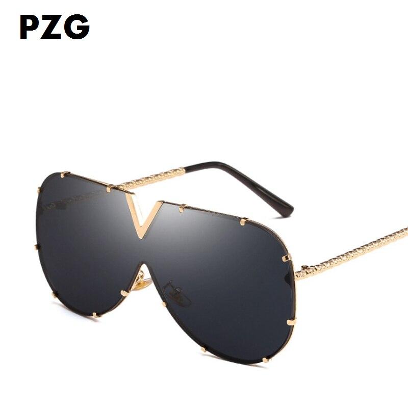 PZG μάρκα μόδας υπερμεγέθη Pilot γυαλιά - Αξεσουάρ ένδυσης