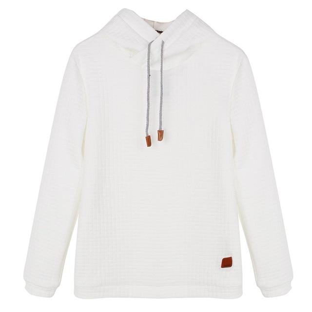 Hoodies Men 2017 Brand Male Long Sleeve Solid Color Hooded Sweatshirt Mens Hoodie Tracksuit Sweat Coat Casual Sportswear