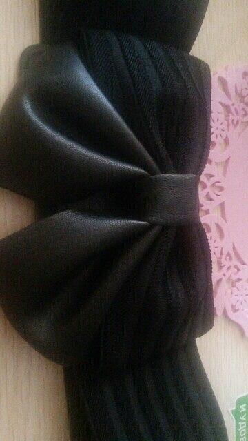 Ms. bow super wide girdle buckle all-match simple elastic waistband dress accessories belt Korean belt