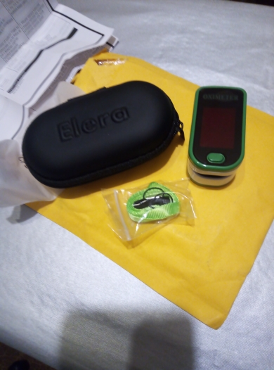 New Pulse Oximeter CE/ISO Approved® photo review