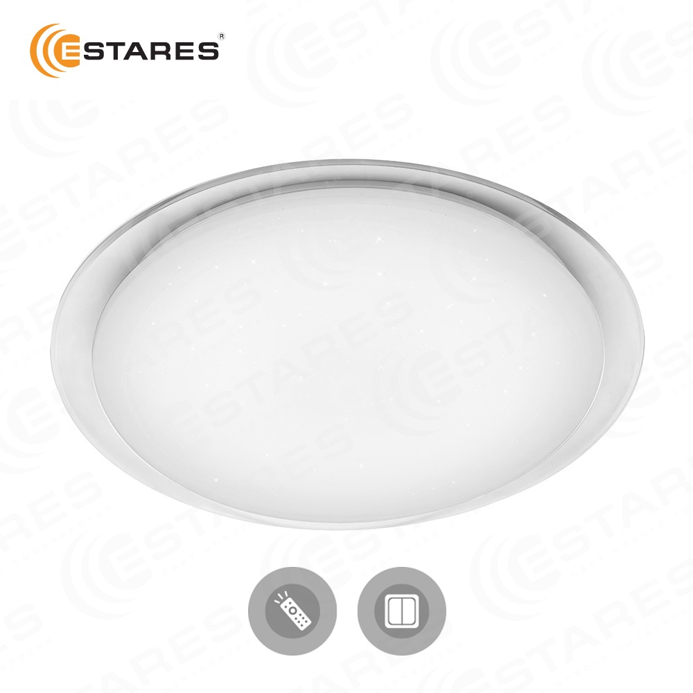 ESTARES SATURN NEW Modern Color Change LED Ceiling Lights Smart Remote Control 80W/100W