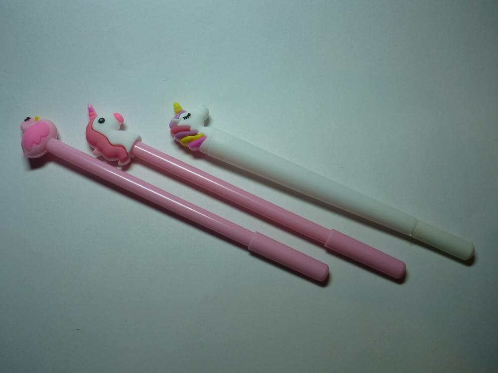 Creative Unicorn Flamingos Pen Cute 0.5mm Signature Pen photo review
