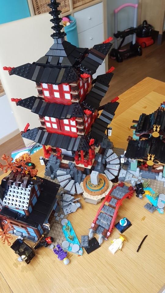 LEPIN 06022 NINJAGO Temple of Airjitzu (2150Pcs) photo review
