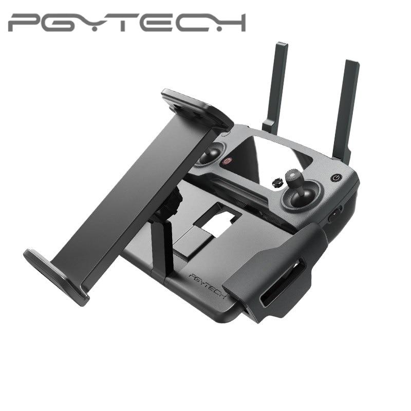 Cheap Offer for  PGYTECH Mavic Mini 2 Pro Zoom remote control 7-10 Pad Holder Flat Bracket tablte stander for DJI Ma