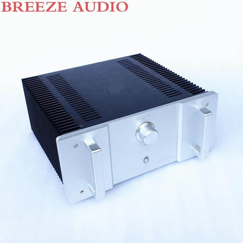 Breeze audio 1969 amplifier aluminum chassis update version aluminum enclosure only case
