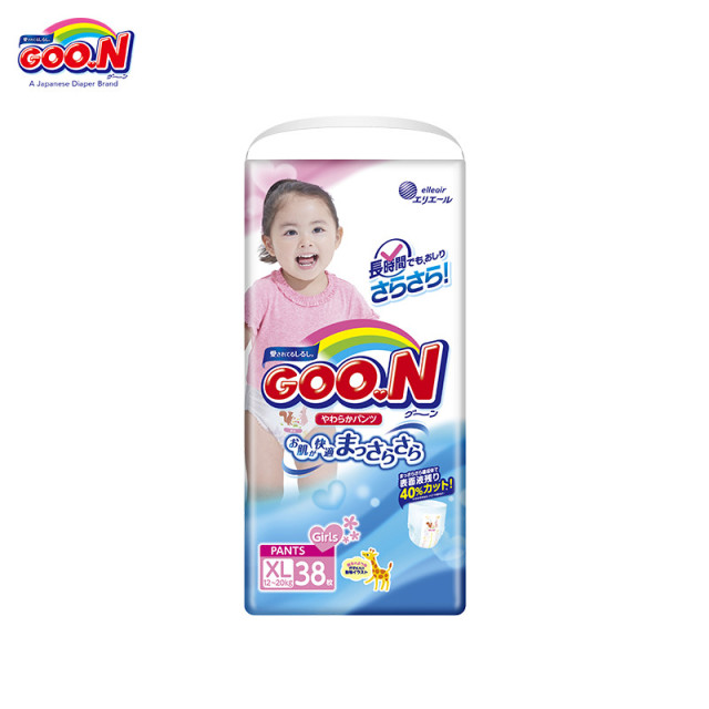 Трусики GOON Panties Girls 12-20 кг (38 шт.) XL