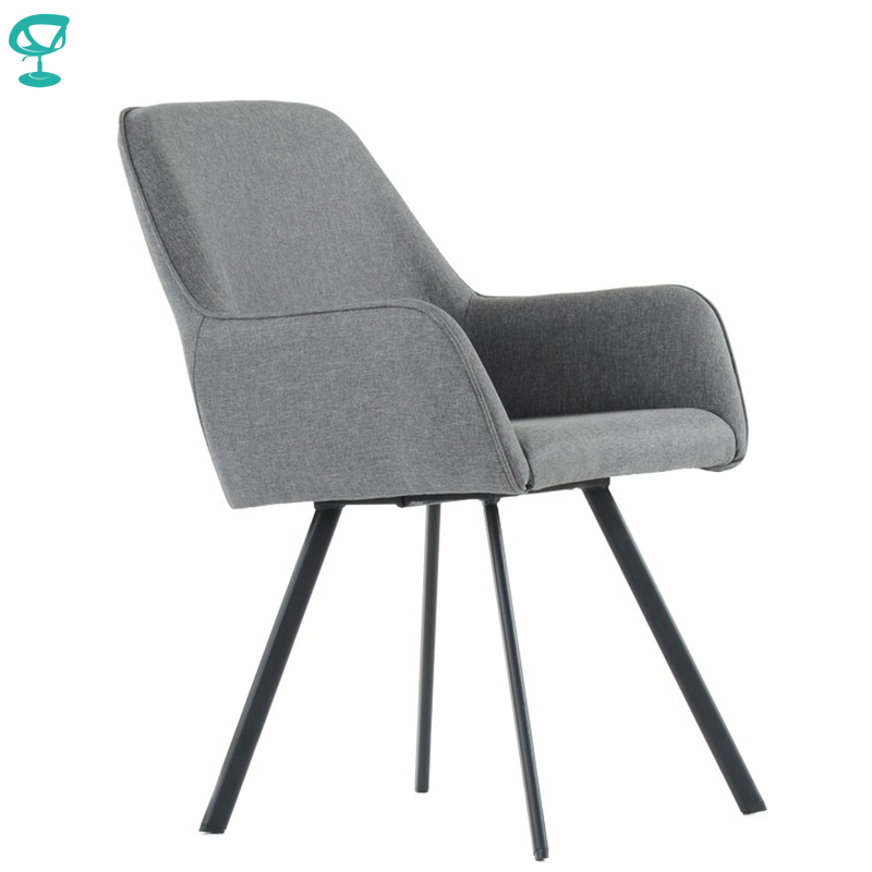 K21L1FbGray Barneo K-21 Fabric Interior Lounge Chair Kitchen Furniture Metal Legs Gray Free Shipping In Russia
