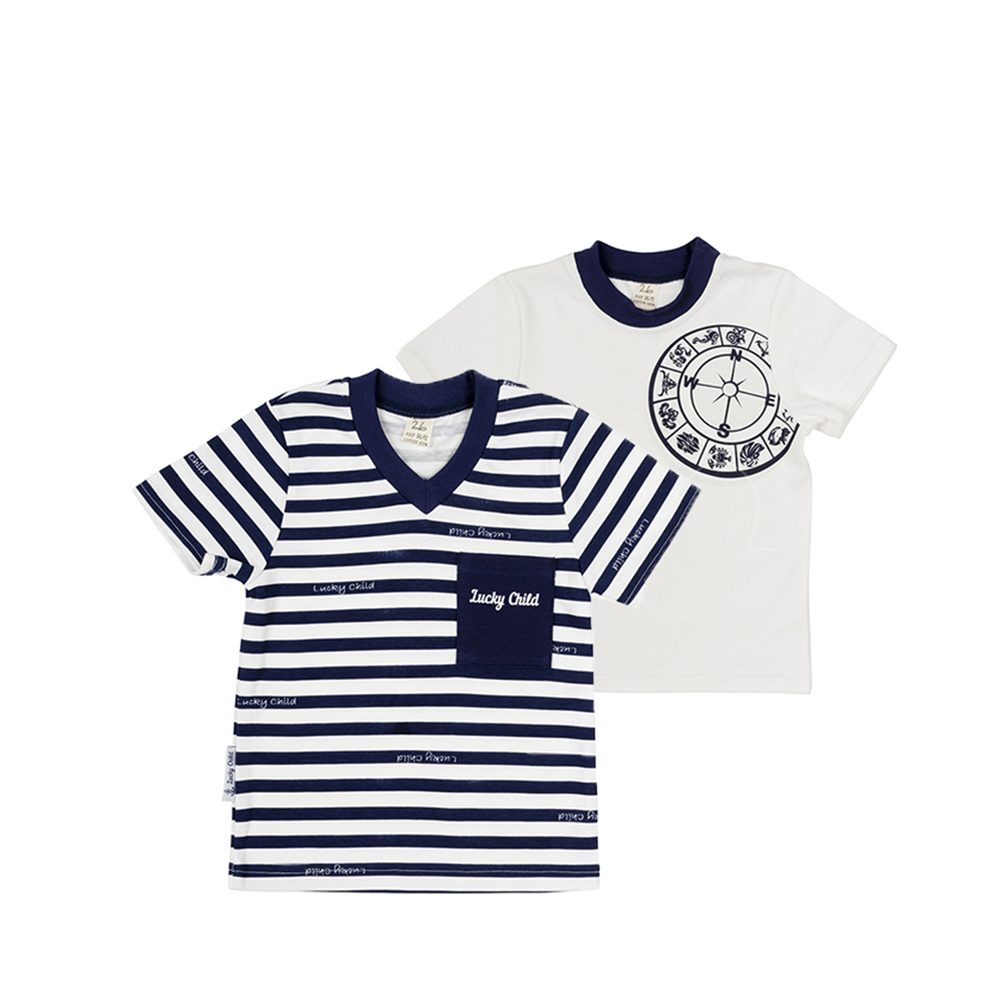 T-Shirts Lucky Child for boys 28-26M (24M-8T) T Shirt Children clothes stylish v neck half sleeves solid color t shirt for women