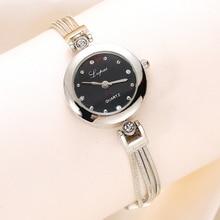 Women's Fashion Rhinestone Tassel Bracelet Bangle Party Club Wrist Watch Gift