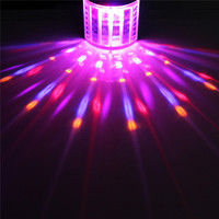 Remote Sound Control DMX512 LED RGB Stage Effect Lighting Night Lamp DJ Disco Bar Party Wedding