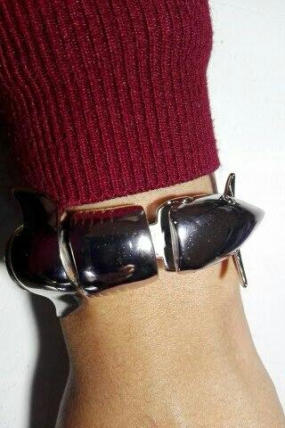 Бренд золото-цвет браслет, преувеличены акула браслет, Нержавеющаясталь Украшения для мужчин оптом, бесплатная доставка