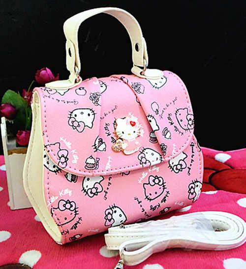 d465902076c8 Xingkings New Women Girl Hello kitty Bags Messenger Bag Shoulder Bag  handbag purse XK-H288