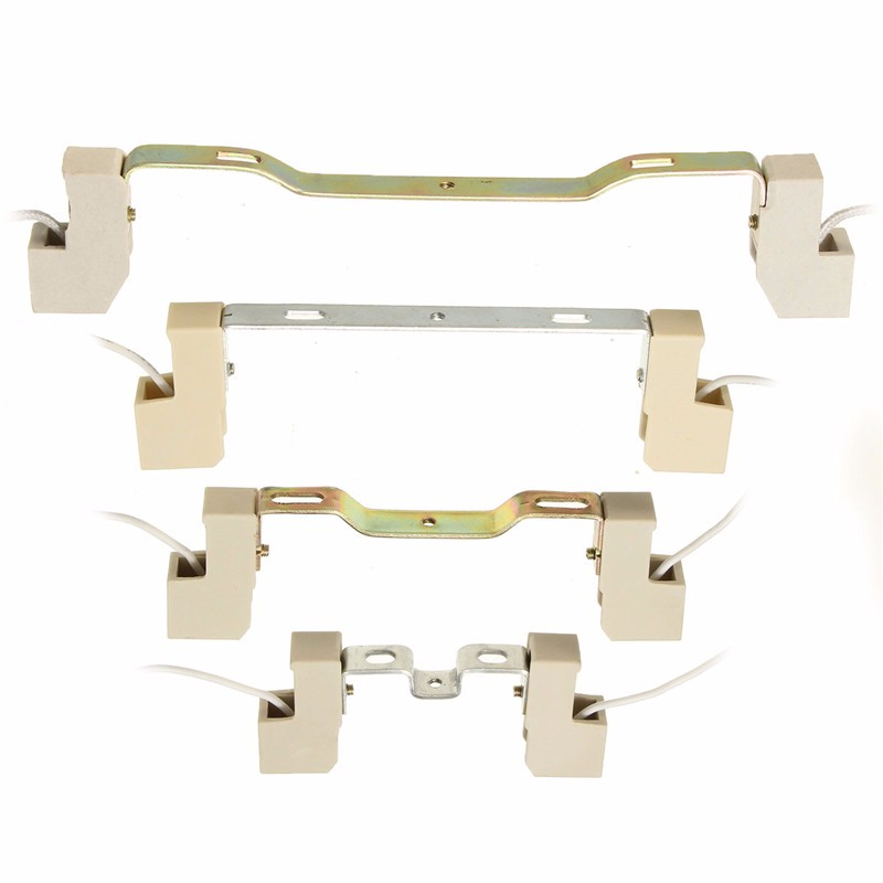 78/118/135/189 mm R7S Lamp Base Socket Lamp Holder Conveter Connector Metal Handle For Flood Light Bulb ...
