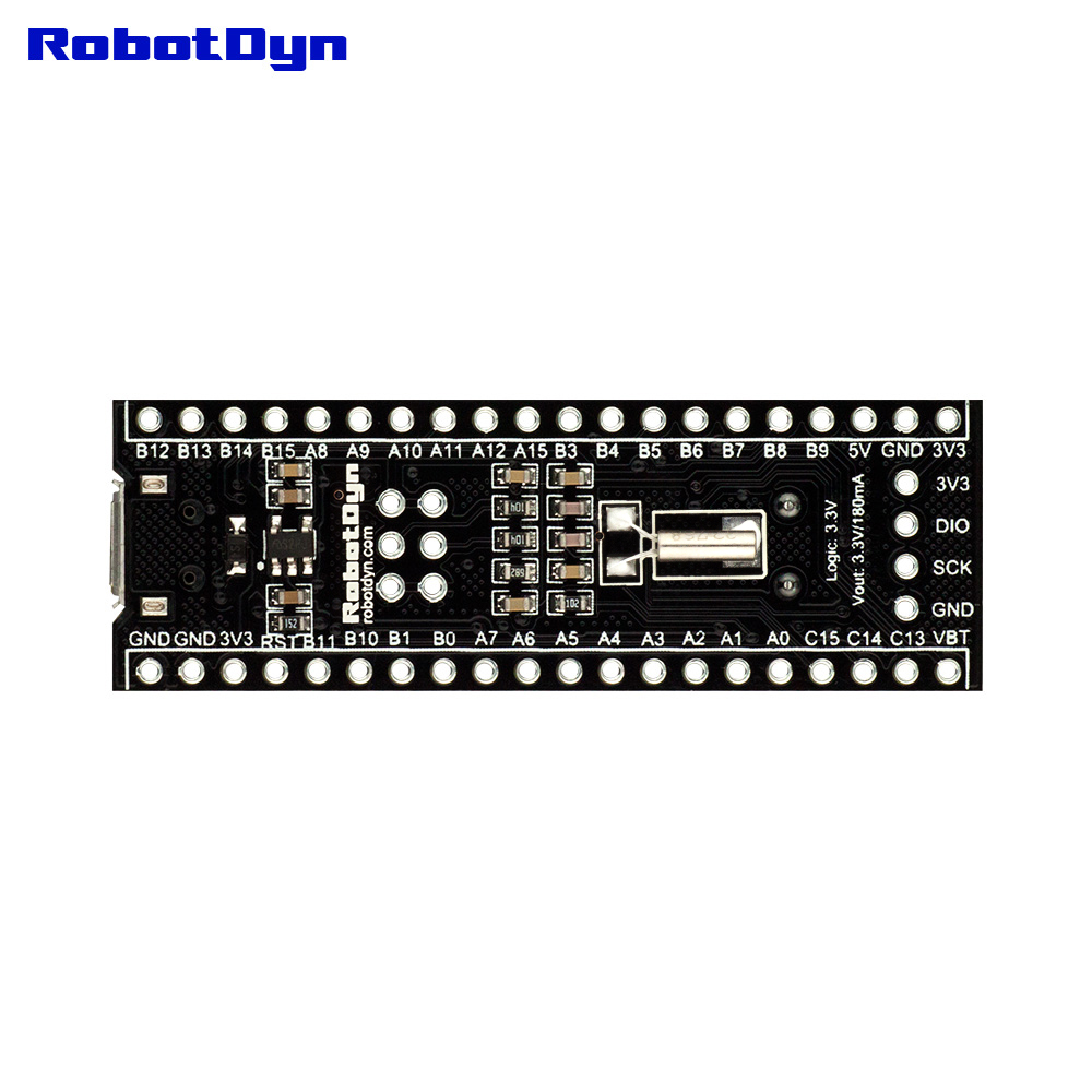 STM32F303CCT6 256KB STM32, bootloader compatible for Arduino IDE or STM firmware, ARM Cortex-M3 Mini System Development BoardSTM32F303CCT6 256KB STM32, bootloader compatible for Arduino IDE or STM firmware, ARM Cortex-M3 Mini System Development Board