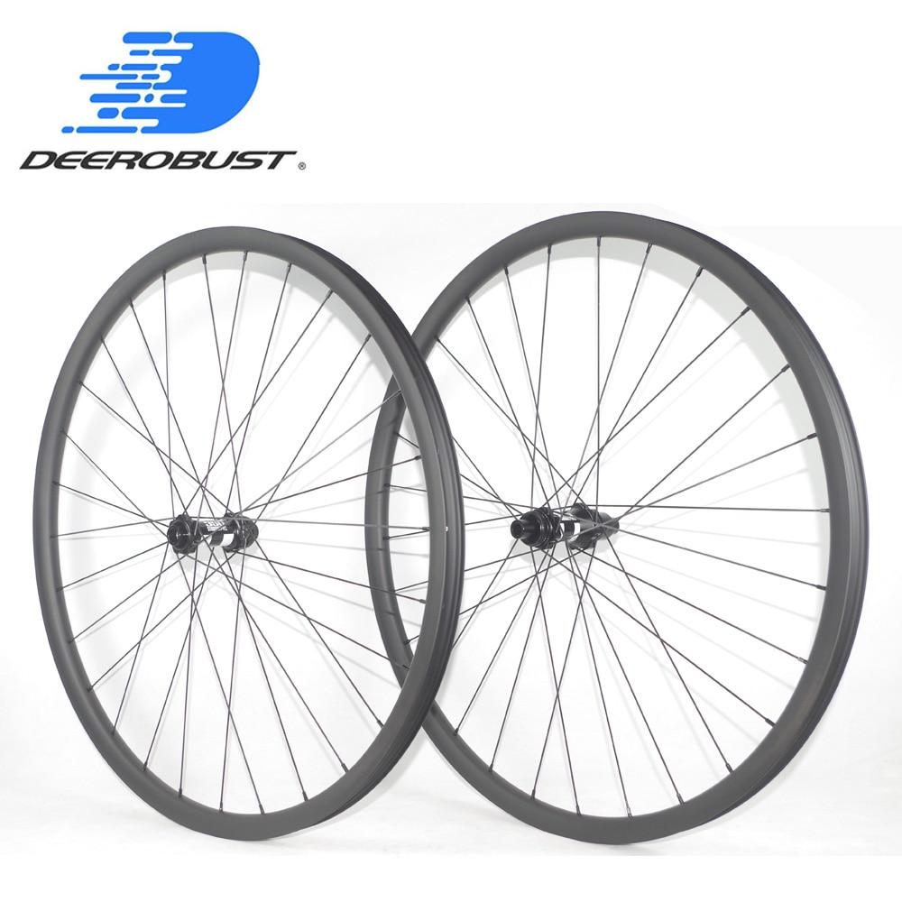 29er carbon rim 310g Asymmetric 30mm Wide Carbon fiber mountain bike Rim lighter