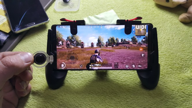 Joystick Gamer para Pubg, Free Fire & Fortnite photo review