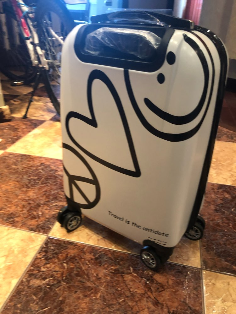 Letrend Korean Cute Rolling Luggage Spinner Cartoon Password Suitcase Wheels 20 Inch Women Carry On Trolley Travel Bag Trunk