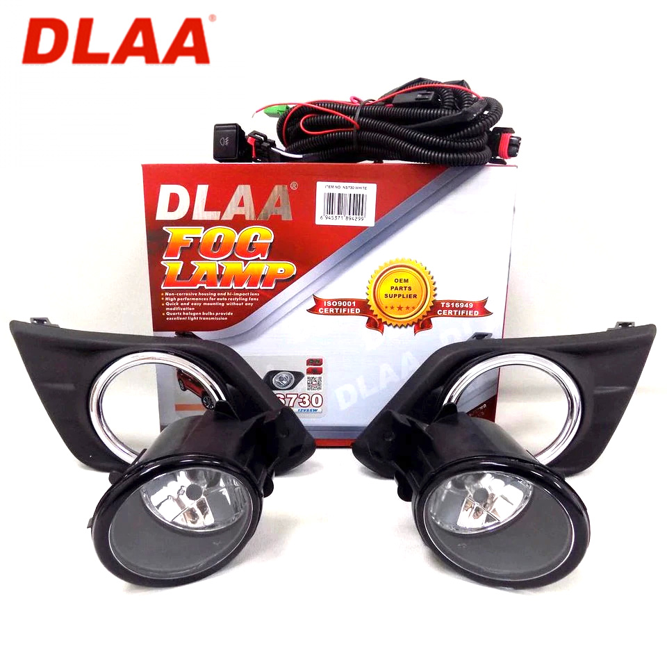 For Nissan X-Trail T32 2014-2017 Fog light kit with wire and button (DLAA NS730)
