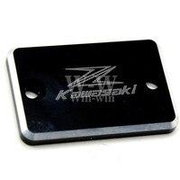 2016 HOT Sale CNC Black Color Front Brake Reservoir Cover Cap FOR Kawasaki NINJA250