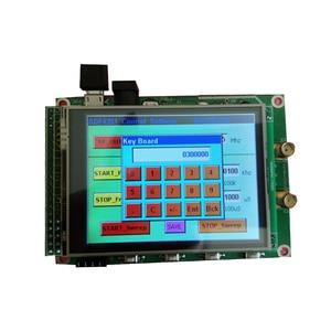 Image 2 - Nowy ADF4351 RF Sweep źródło sygnału Generator pokładzie 35M 4.4G + STM32 TFT dotykowy LCD