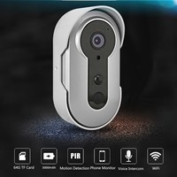 Safurance Wireless Video Wifi Doorbell Camera Security Monitor Intercom PIR Night Vision Home Security Safety
