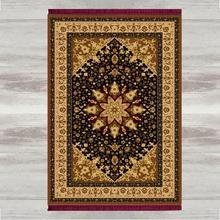 אחר שחור צהוב מרוקאי 3d הדפסת תורכי אסלאמי מוסלמי תפילת שטיחים גדילי אנטי להחליק מודרני תפילת מחצלת הרמדאן עיד מתנות