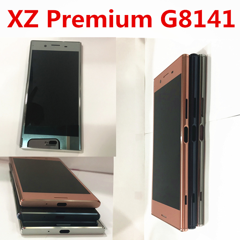 Originale 5.5 3840x2160 IPS LCD per SONY Xperia XZ Premium Display Touch Screen Digitizer Assembly G8142 G8141 LCD con CorniceOriginale 5.5 3840x2160 IPS LCD per SONY Xperia XZ Premium Display Touch Screen Digitizer Assembly G8142 G8141 LCD con Cornice