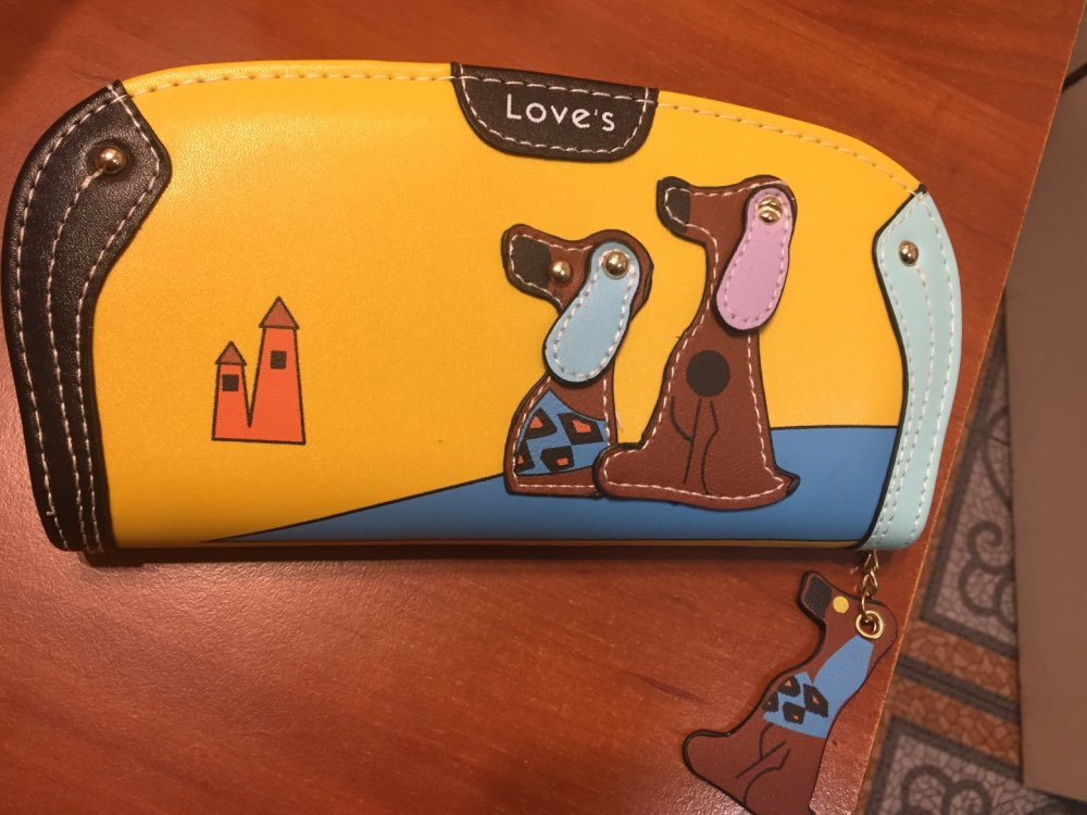 Maison Fabre Wallet Cartoon Dog Love's Women Purse Bag Designer Wallets Famous Women Wallet Drop Shipping 2017D26 photo review