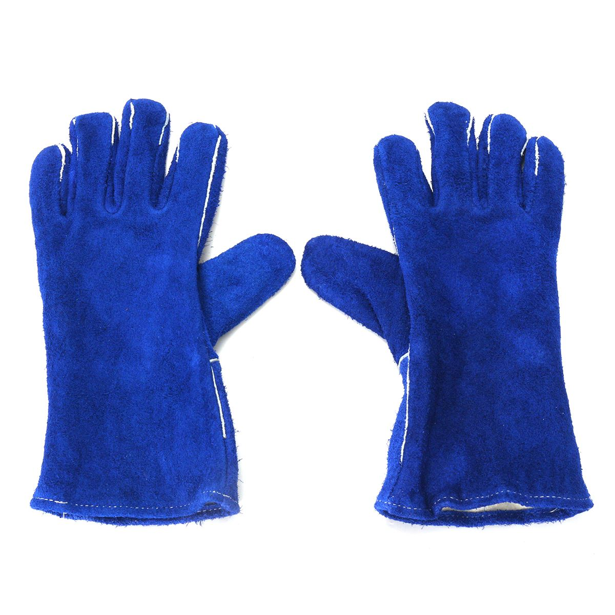 NEW Safurance 14 Welding Gloves Gauntlets Welder Hands Fire High Temperature Protection Blue Workplace Safety Glove manitobah рукавицы fur gauntlets