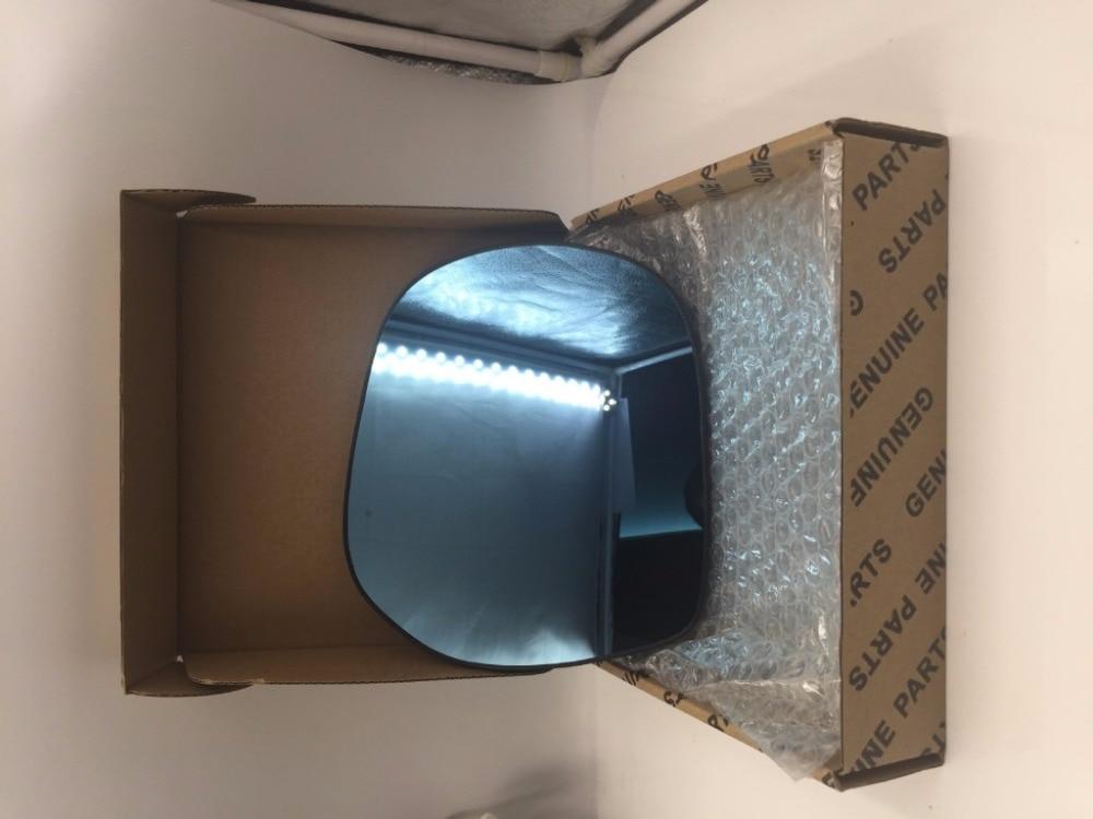 цена на 2pcs Power Heated w/Turn Signal Anti-Dizziness Side View Mirror Blue Glasses For 2015 Toyota Prado/2016 Toyota Land Cruiser