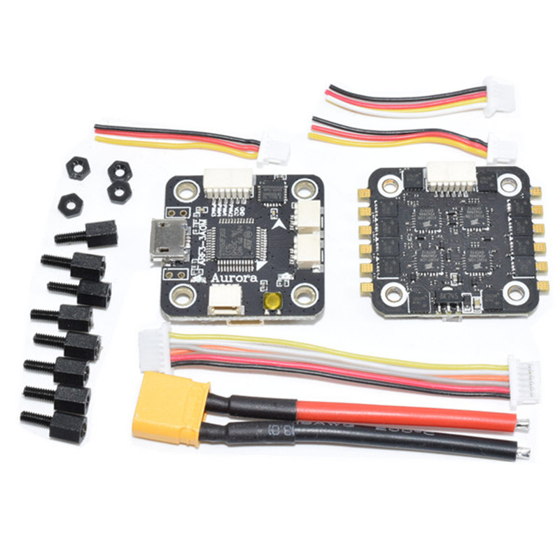 20x20mm ARF3-3AOM Flytower Omnibus F3 Flight Controller AIO OSD BEC & 28A BLheli_S ESC for RC Drone Quadcopter Multi Rotor Parts omnibus f303 b6 v2 f3 flight controller replace integrate osd hub fpv section board for airframe quadcopter multicopter rc drone