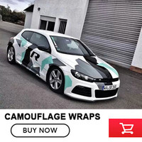Camo Sticker Bomb Vinyl Wrap Black Grey White Snow Camouflage Vinyl 5 10 15 20 25