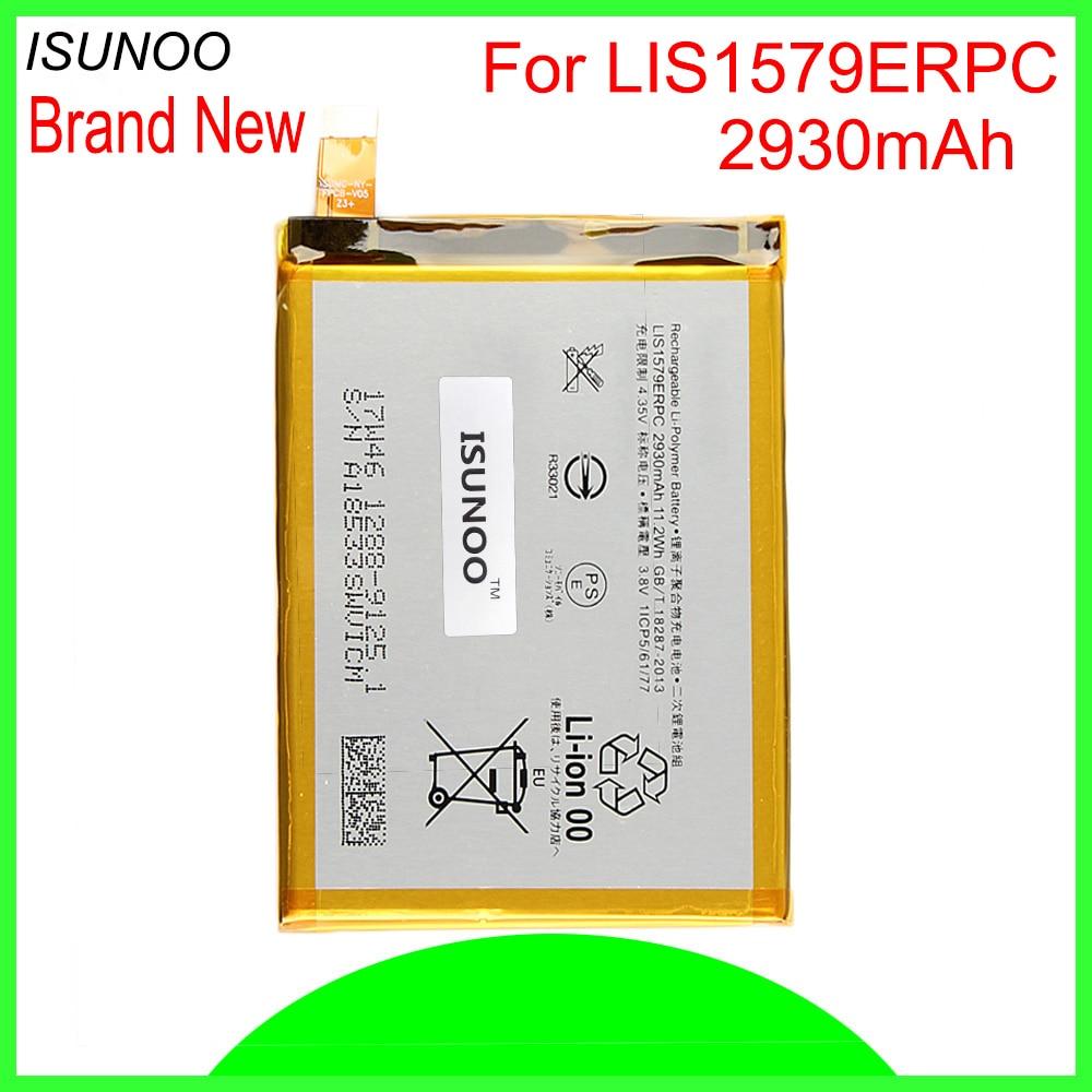 ISUNOO 2930 mAh LIS1579ERPC batterie pour Sony Xperia C5 Ultra E5506 E5533 E5563 E5553 batterie