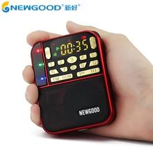 Mini Fm de Poche Stéréo Radio Portable Micro Sd Radios Bande De Mode Haut-Parleur Tf Usb Mp3 Haut-parleurs Fm Récepteur Récepteurs Haut-Parleur