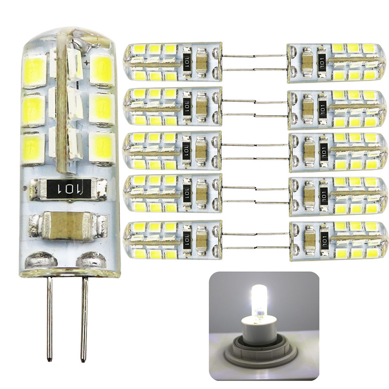 10x G4 LED Bulb AC 220V 3w Replace 30w halogen Light 360 Beam Angle G4 Christmas LED Lamps