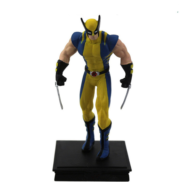 Vingadores Wolverine Superhero guerra infinito O X-Men Logan Howlett Resina Action Figure Toy Collectible Modelo 12 CM Q181