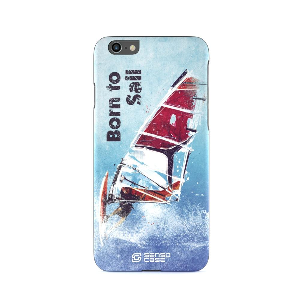 Protective Case SensoCase Windsurfing for Apple iPhone