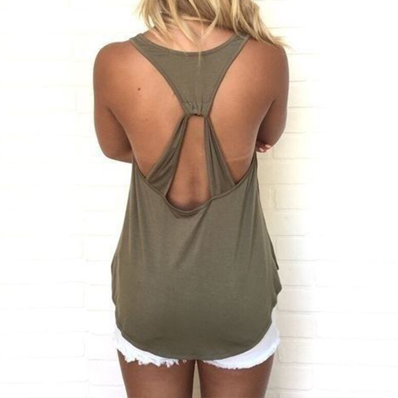 Blusas Shirt 2018 Summer Pregnant Women Tank Tops Sexy Sleeveless Vests Casual Loose Backless Hollow Out Maternity Clothings